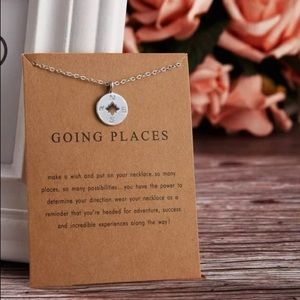 Jewelry - Make a Wish Necklace - Going Places